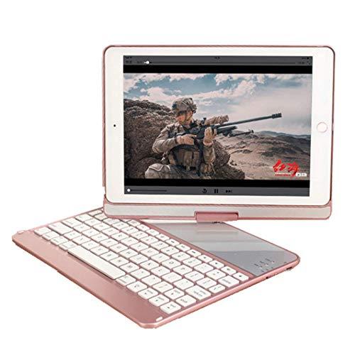IPad iPad 9.7 toetsenbordbehuizing 9.7 voor iPad 2018 (zesde generatie) -2017 (vijfde generatie) -iPad Pro 9.7-Air 2 & 1, met toetsenbord, 360-rotatie draadloos toetsenbord iPad-hoes