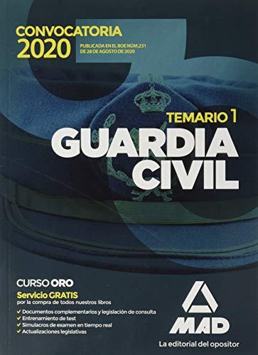 Guardia Civil. Temario Volumen 1