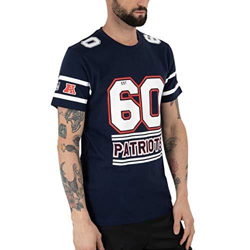 New Era NFL Team Established tee Neepat Osb Camiseta de Manga Corta, Hombre, Blue, L