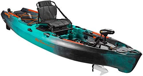 Old Town Sportsman AutoPilot 120 Motorized Fishing Kayak with Minn Kota Trolling Motor (Photic Camo)