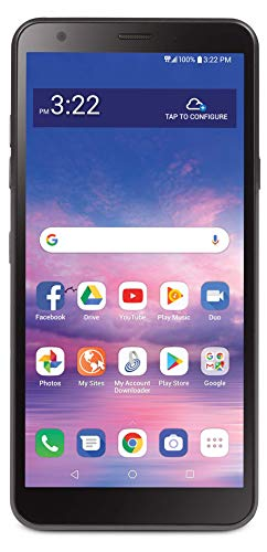 Total Wireless LG Journey 4G LTE Prepaid Smartphone (Locked) - Black - 16GB - Sim Card Included - CDMA