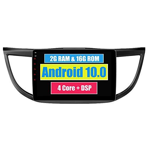 RoverOne Android 7.1 Système Voiture GPS Navigation Pour Honda CRV CR-V 2012 2013 2014 avec Autoradio Radio Stéréo Bluetooth HDMI MirrorLink Quad Core Système Multimédia
