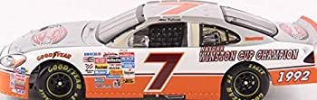 NASCAR Alan Kulwicki #7 2003 Taurus The Victory Lap 1/24th Scale Diecast Hood Opens HOTO 1992 Cup Champion Limited Edition