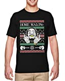 Home Malone - Post Musician Hip Hop Rap Men's T-Shirt (Black, X-Large)