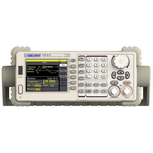 New SIGLENT 10 mhz SDG810 señal function arbitraria de forma de onda de generador 125MSa/S