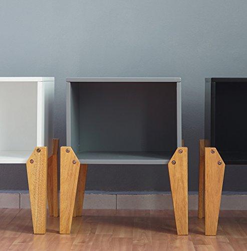 Kidsaw Ltd Kidsaw, Joybox Solaire, Bois, Gris, 34 x 40 x 54 cm