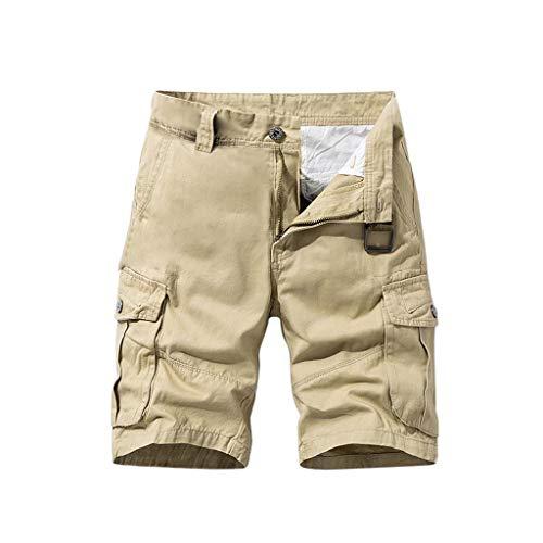 serliy Herren Cargo Shorts Bermuda Shorts Kurze Hose Sommer Herrenshorts Werkzeug Pants Cargohose kurz mit Herrenshorts Mid-Rise Freizeithose Männer