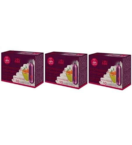 Cartucce sifone per panna montata Isi, 3 confezioni da 10 pezzi