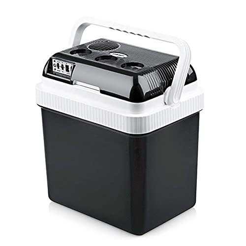 YADLCR 24 litros Nevera Termoeléctrica Portátil Calor/Frío Mini Refrigerador Conexiones 12V&220V Nevera...