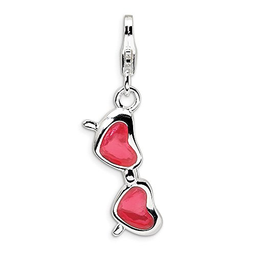Jewelry Best Seller Sterling Silver Magnifying Glass Charm