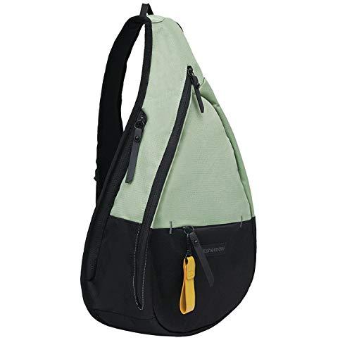 Sherpani Esprit, Nylon Sling Bag, Shoulder Sling Bag, Crossbody Sling Backpack for Women Fits 7 Inch Tablet, RFID Protection (Jaden)