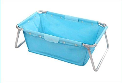 AJZGF Puede doblarse para adaptarse a la bañera de bebé engrosada Bathtub