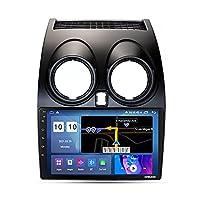 Android 10.0 カーステレオラジオヘッドユニット日産キャシュカイ 2006-2013 、 GPS Bluetooth FM AM リアカメラステアリングホイールコントロール carplay,M200s 8core 2+32g