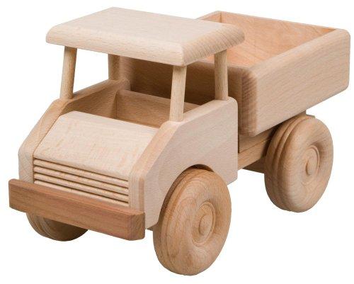 HOFMEISTER®, Kleiner Lastwagen Spielzeug Auto Kinder, oder, Dekoration, aus Buchenholz L215xB110xH125 mm, 30461