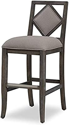 Black and Brown Benzara BM186211 Metal Counter Height Stool with Wooden Saddle Seat Set of Two