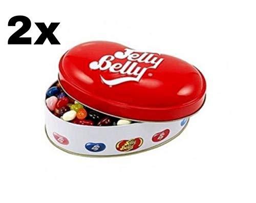 2 pack x Jelly Belly 20 Sabores (65 gramos) Risas con los amigos Divertido juego de 8 sabores mezclando caramelo masticable gominolas chuches
