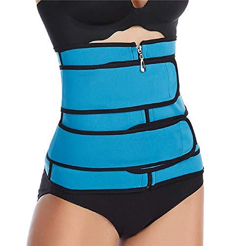 YOUQI Entrenador abdominal, cinturón de cintura para mujeres y hombres, alivio de dolores musculares y artritis, promueve la recuperación posparto