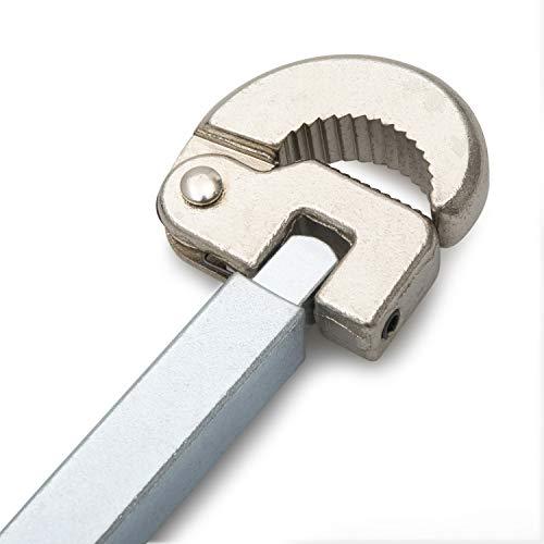 Tamwell Telescoping Basin Wrench - Adjustable 3/8