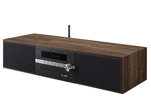 Pioneer X-CM66D(B) HiFi-Microsystem (CD, DAB, FM, TuneIn-Internetradio, Spotify Connect, Wifi und Bluetooth) Schwarz