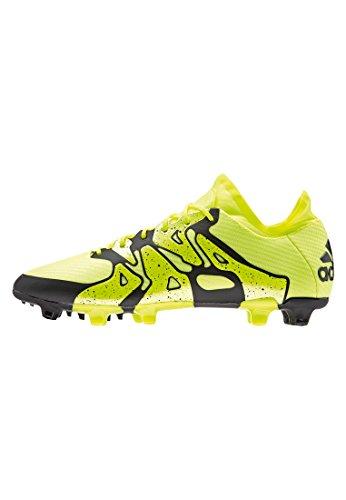 adidas Herren Chaos High FG/AG Fußballschuhe, Gelb (Solar Yellow/Solar Yellow/Core Black), 40 2/3 EU