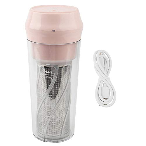 Sale!! Household Electric Juicer Mini Automatic Juice Machine(Pink)