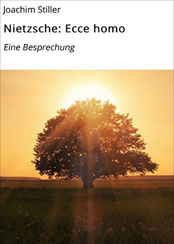 Nietzsche: Ecce homo: Eine Besprechung (German Edition)