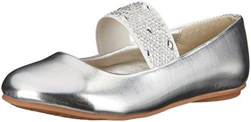 Kensie Girl KG24500 Flat, Silver, 2 M US Little Kid