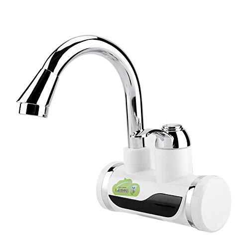 Atyhao Dispensador de Agua Caliente, Grifo instantáneo para Calentador de Agua con Pantalla de Temperatura para Cocina casera(#2)