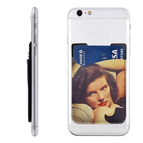 Hollywood-legende telefoonkaarthouder Stick op mobiele telefoon portemonnee voor creditcard, visitekaart-ID en sleutels, telefoonvak voor alle telefoons