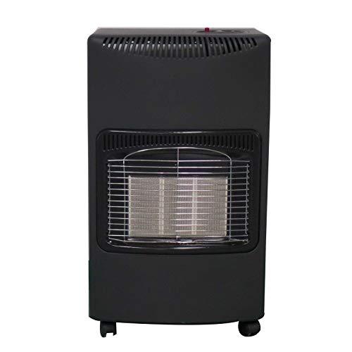 ELPINE portable calor gas heater 4.2 KW butane LPG home heating cabinet fire regulator hose gas heater