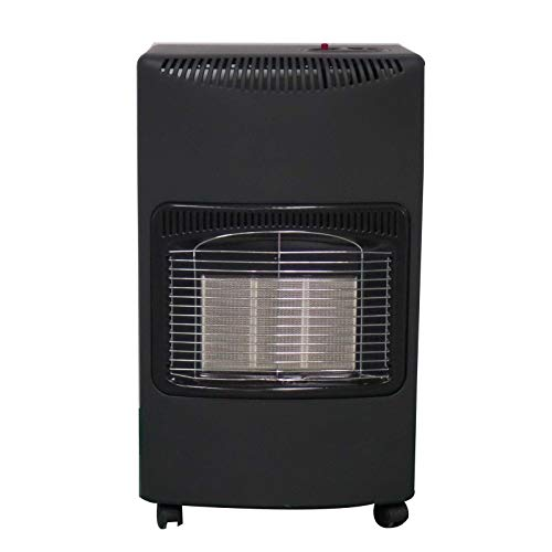ELPINE calentador de gas de calor portátil 4.2 KW butano GLP hogar calefacción gabinete regulador de incendios manguera calentador de gas