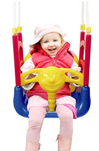 Izzy Baby-Schaukel 3-in-1 Kinder mitwachsend, Abnehmbarer Bügel, Schaukelsitz - 2