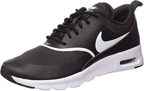 Nike Damen Air Max Thea Laufschuhe, Schwarz (Black/White 028), 38.5 EU