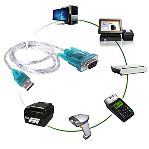 Ruiqas USB naar RS232 seriële poort 9 pin DB9 kabel seriële COM-poort adapter convertor