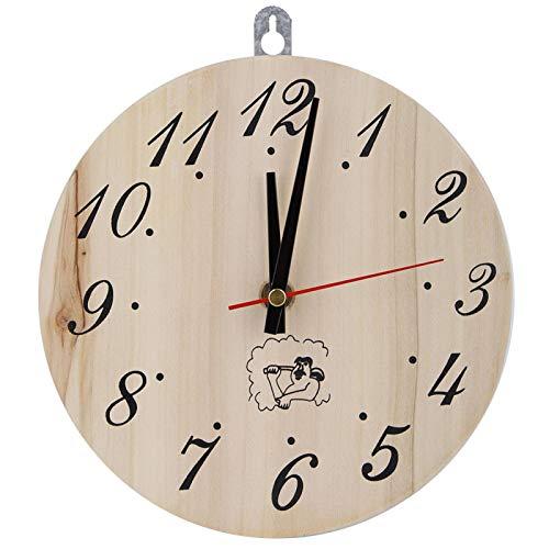 Sauna Uhr Sauna Timer Uhr Sauna Zubehör Hitzebeständige Sauna Raumdekoration Dekorative Timer Uhr für Bad Wohnzimmer