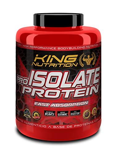 Pro Isolate Protein 2Kg Leche Merengada King Nutrition proteina isolada