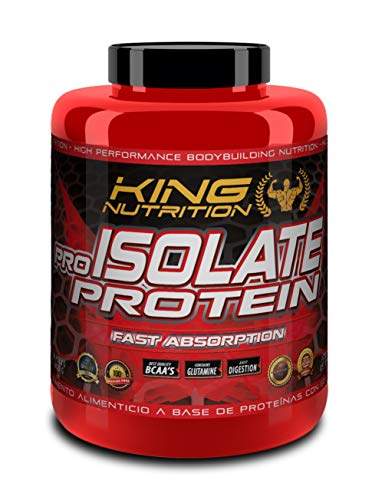 Pro Isolate Protein 2Kg Cookies and Cream King Nutrition proteina isolada...