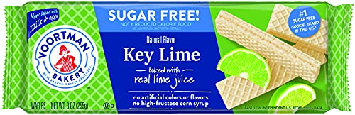 Voortman Bakery Sugar Free Key Lime Wafers, 27 Count