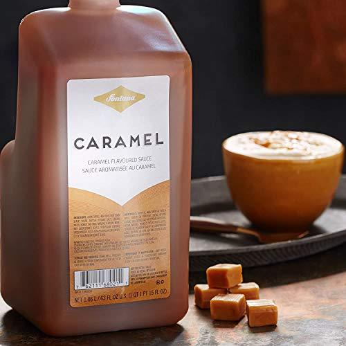 Starbucks Fontana Frappuccino Caramel Sauce, Bottle Only | 63 oz