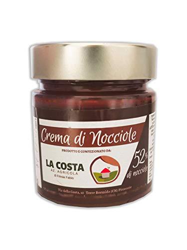 Haselnusscreme Mit 52% Piemontesischen Haselnüssen I.G.P - 230 GR - Streichcreme Ohne Palmöl - Made In Italy
