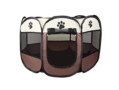 Cosy Life Playpen Tent for Pets Dogs Puppies, 65x65x44 cm (small)
