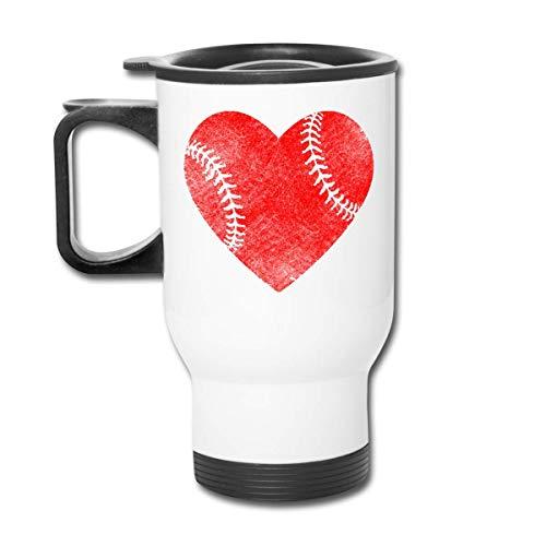 Vaso republicano de béisbol Love - Vaso con doble aislamiento - Taza de café de 30 onzas para automóvil, viaje, trabajo
