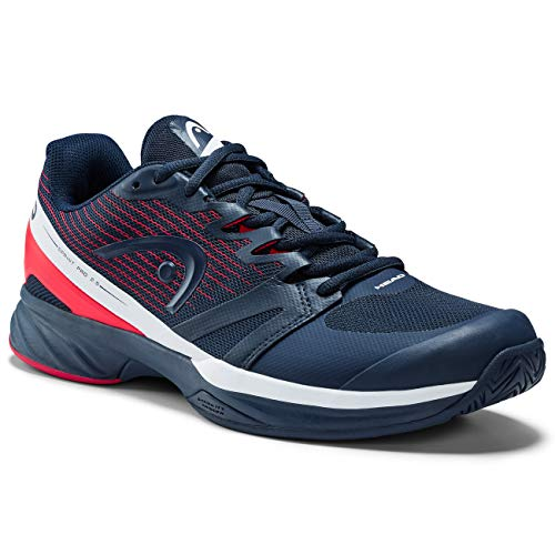 Head Sprint Pro 2.5 Men, Zapatillas de Tenis para Hombre, Azul (Dark Blue/Neon Red Dbnr), 40.5 EU