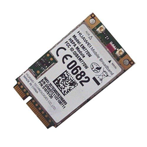 Unlocked Em770w Wwan Wireless 3g GPS 14.4mbps Wcdma Hsdpa Hsupa Mini Pci-e Network WiFi Card 3g/2g Modem Internal Laptop