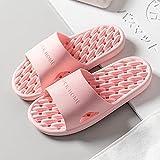 WUHUI Sandalias de Verano, Zapatillas de baño Interior Verano Mujer, Pink_36 / 37, Zapatillas de Baño Casa Hombre Mujer