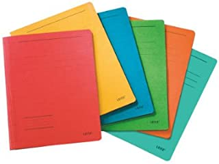 Leitz Folder A4 Manila Fresh-Assorted (Pack of 10)