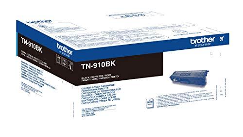 Brother Original Ultra-Jumbo-Tonerkassette TN-910BK schwarz (für Brother HL-L9310CDW, HL-L9310CDWT, HL-L9310CDWTT, MFC-L9570CDW, MFC-L9570CDWT) 9000 Seiten