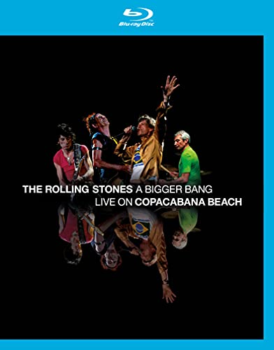 The Rolling Stones - A Bigger Bang live on copacabana beach [SD Blu-ray (SD upscalée)]