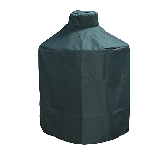 Mini Lustrous Cover for Large Big Green Egg, Heavy Duty Ceramic Grill Cover - Premium Outdoor Grill Cover with Durable and Water Resistant Fabric, Large