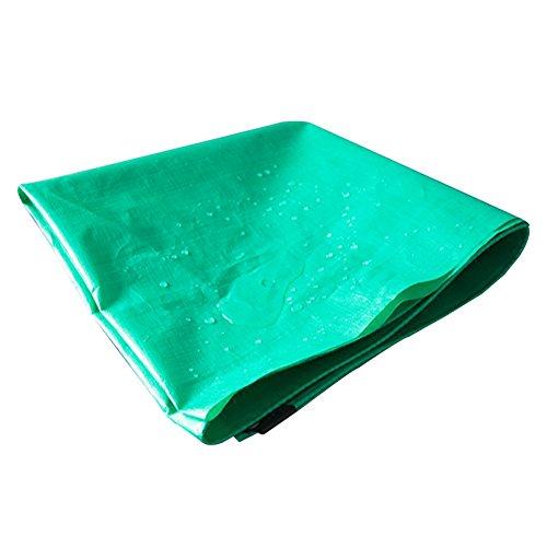 RENJUN Camión Doble Verde Broadcom Lonas Impermeables De Plástico Cubierta De Lluvia Sombrilla Impermeable Paño Protector Solar A Prueba De Agua Tienda de Lona (Color : Green, Size : 4x5m)